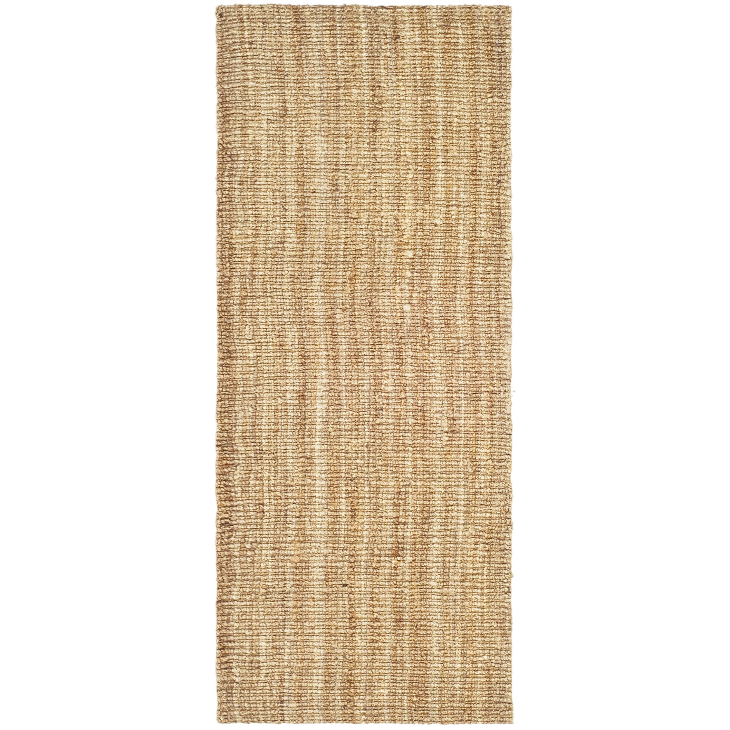 Safavieh Natural Fiber Collection NF447A Hand Woven Natural Jute Runner (2' x 6') by Safavieh (Image #2)