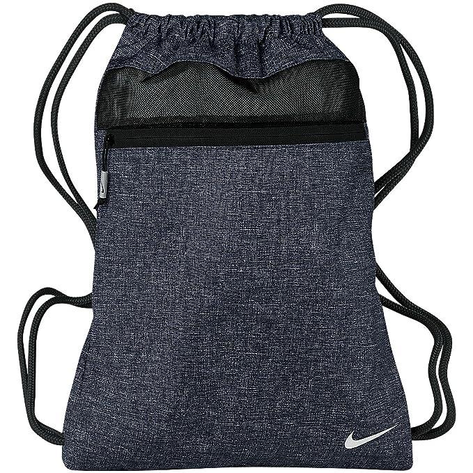 Nike Mochila de cuerdas modelo Golf Sport III (Talla Única/Azul/negro)
