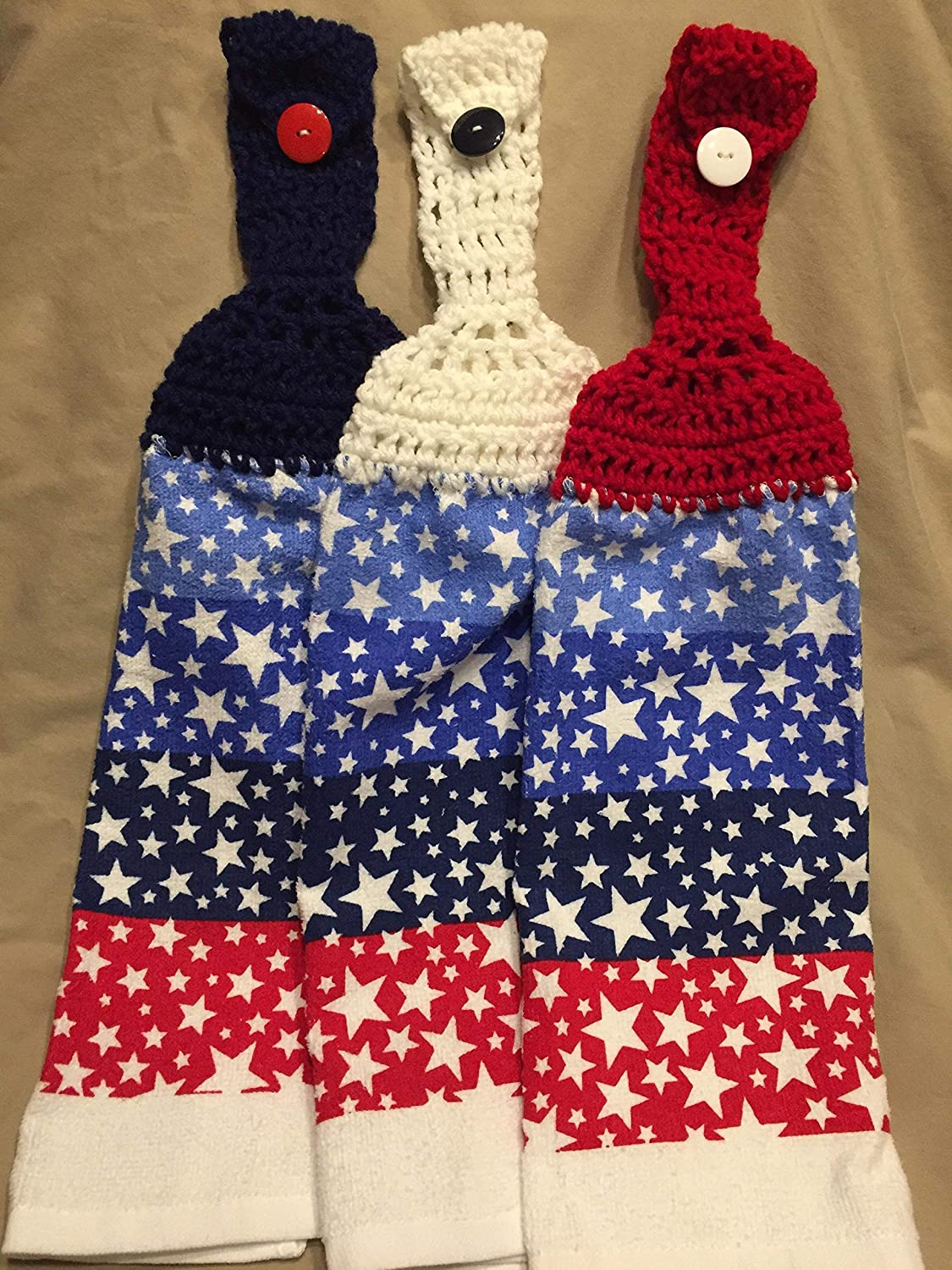Amazon Free Shipping To Usa Included Set Of 3 Crochet Kitchen