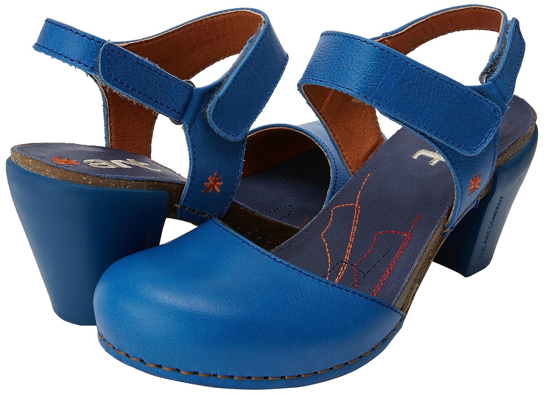 Art Damen Damen Art 1281 Memphis I Feel Peeptoe Sandalen Blau (Sea) 8e1527