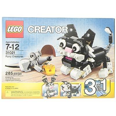 Lego Creator 31021 Furry Creatures: Toys & Games