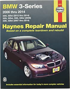 Haynes Repair Manuals BMW 3-Series 2006-2014 (18023)