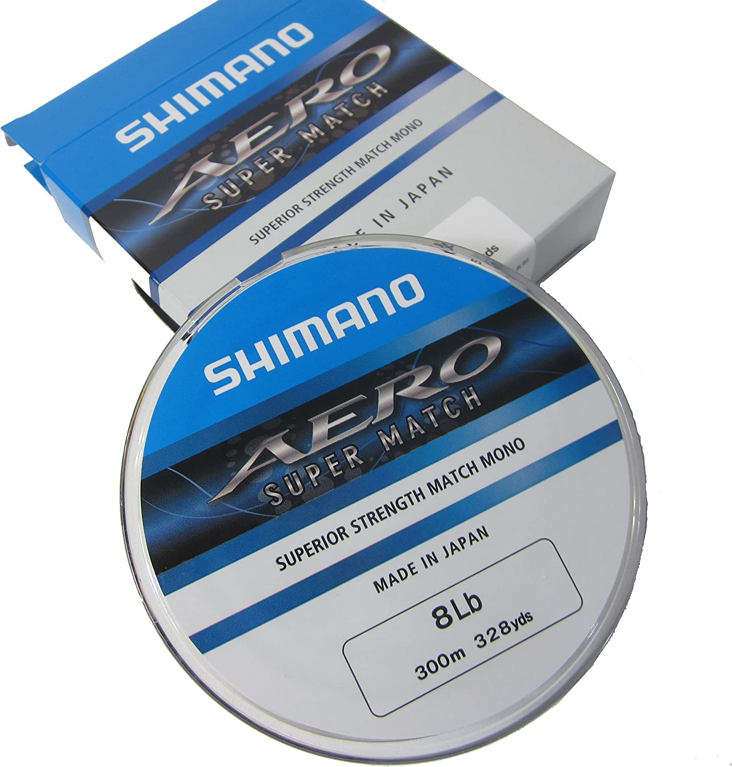 Brand New Shimano Aero Match Line 300m Spools All Breaking Strains Available