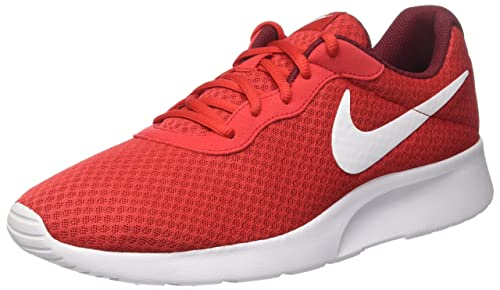 Nike Mens Tanjun Running Sneaker University Red Team Red White 11