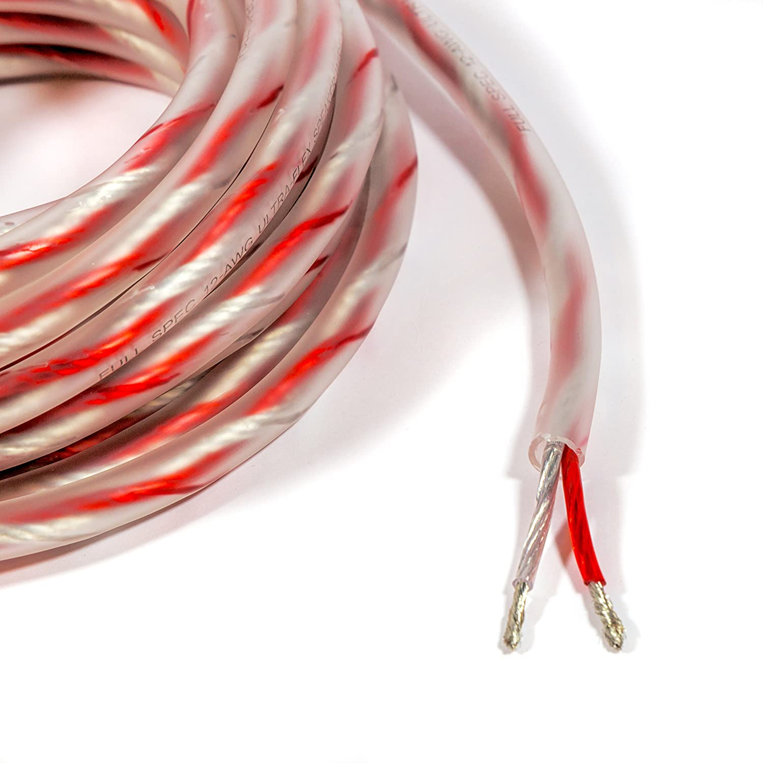 34 ft. 16-AWG High-Strand Car Speaker Wire Carwires SW1600-34 Bravo View Technology
