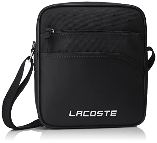 c22e9e6090 Lacoste Men s Sac Homme Access Basic Shoulder Bag Black black (black) One  Size  Amazon.co.uk  Shoes   Bags