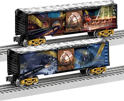 Lionel The Polar Express, Electric O Gauge Model Train Cars, Boxcar on railroad caboose plans, railroad car plans, large wooden train plans, railroad flatcar plans, railroad track plans,