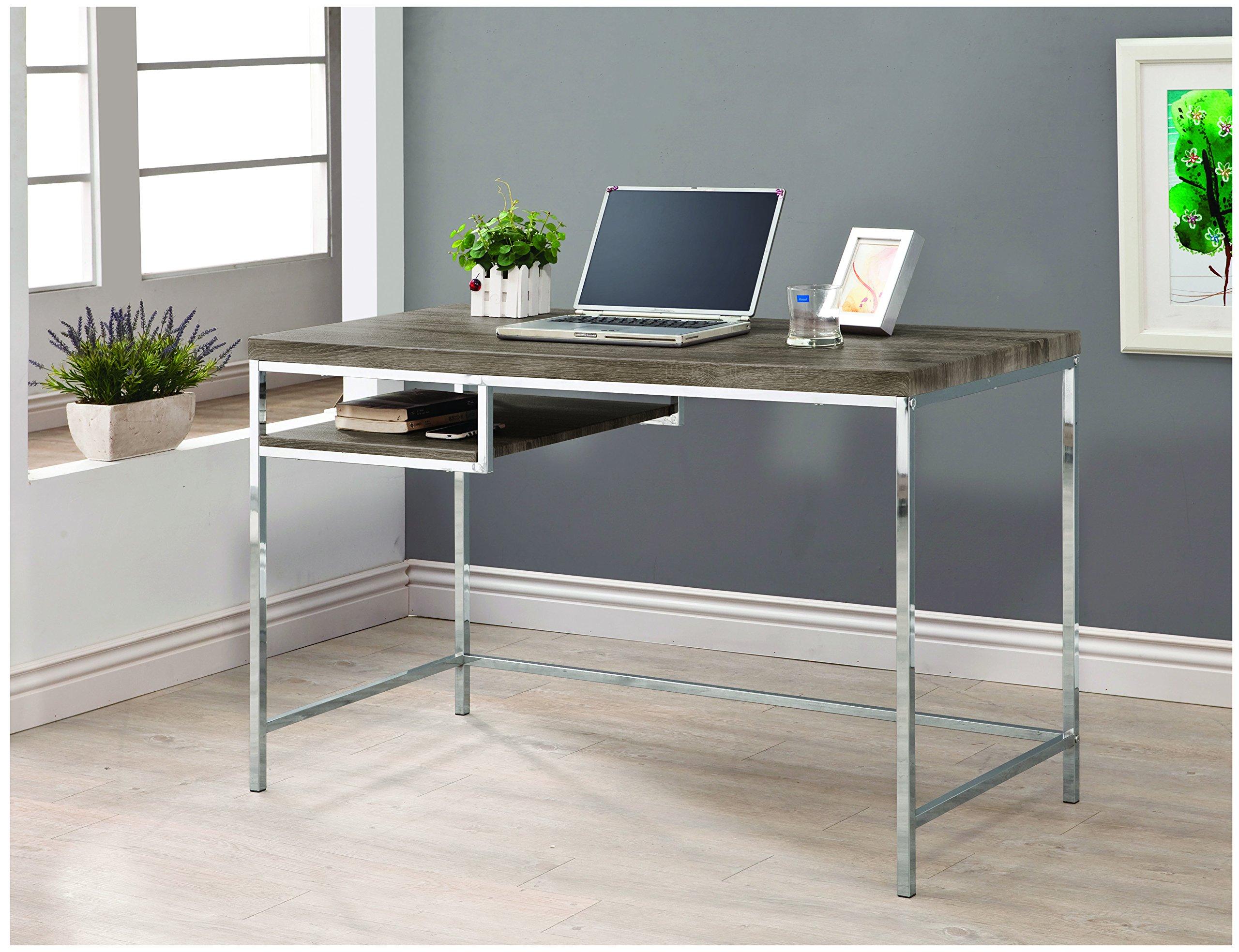 Coaster 801271 Home Furnishings Desk, Weathered Grey