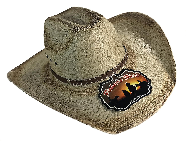 Palmoro The Original Truman Cowboy Moreno Palm Straw Hat