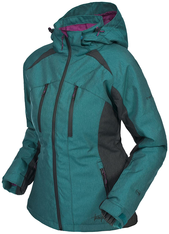 Jade womens padded long jacket