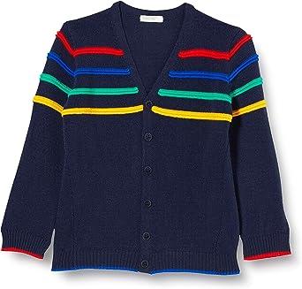 United Colors of Benetton Cardigan M//L Chaqueta Punto para Beb/és