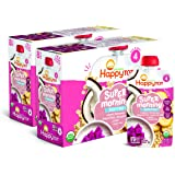 Happy Tot Organics Super Morning Stage 4 Dairy Free, Bananas, Dragon Fruit, Coconut Milk & Oats + Super Chia, 4 Ounce Pouch (