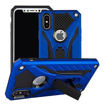 ZHIKE Funda iPhone X/XS, Prueba de Golpes Funda para PC Funda Protectora Suave