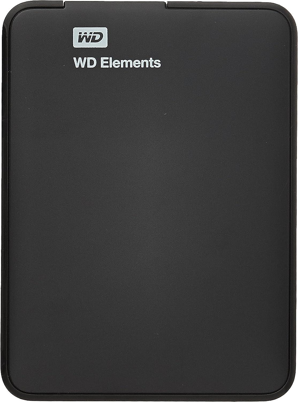 Western Digital WD Elements Portable WDBUZG0010BBK - Disco Duro - 1 TB - USB 3.0