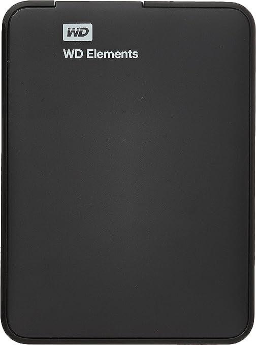 ウエスタンデジタル USB3.0対応 ポータブルハードディスク 1.0TB(ブラック)WD Elements Portable WDBUZG0010BBK-EESN
