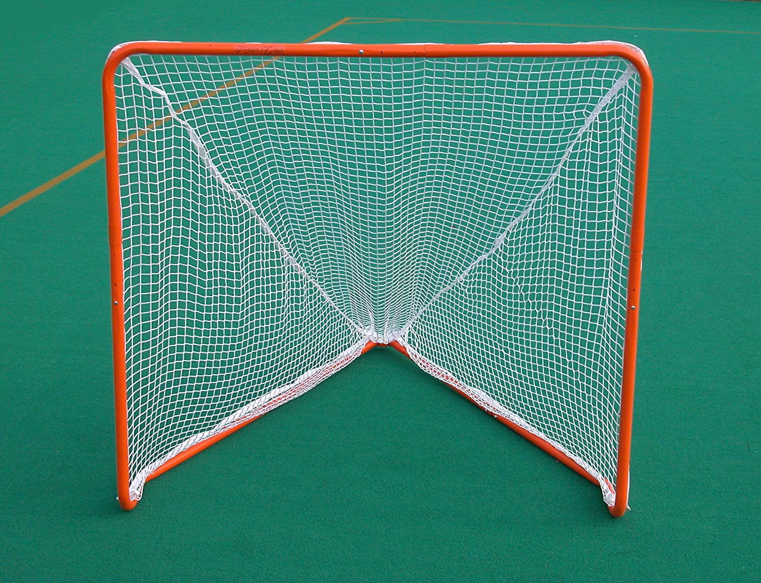 amazon com rage cage lax b100 collapsible lacrosse goal with pre