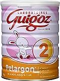 GUIGOZ Pelargon 2 - Lait Infantile en Poudre de 6 à 12 Mois - 800g - Lot de 3