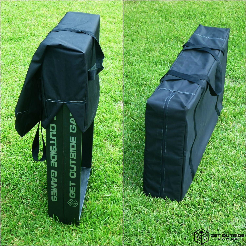 Get外側ゲームCornholeボードキャリーケース&ストレージバッグ – 2サイズ  Tailgate Size 24\