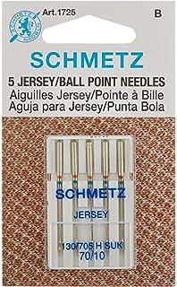 Amazon.com: 25 Schmetz Assorted Jersey Ball Point Sewing ...