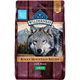 Blue Buffalo Wilderness Rocky Mountain Recipe High Protein, Natural Adult Dry Dog Food and Wet Dog Food