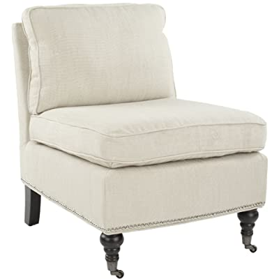 Safavieh Mercer Collection Randy Slipper Chair, Off White