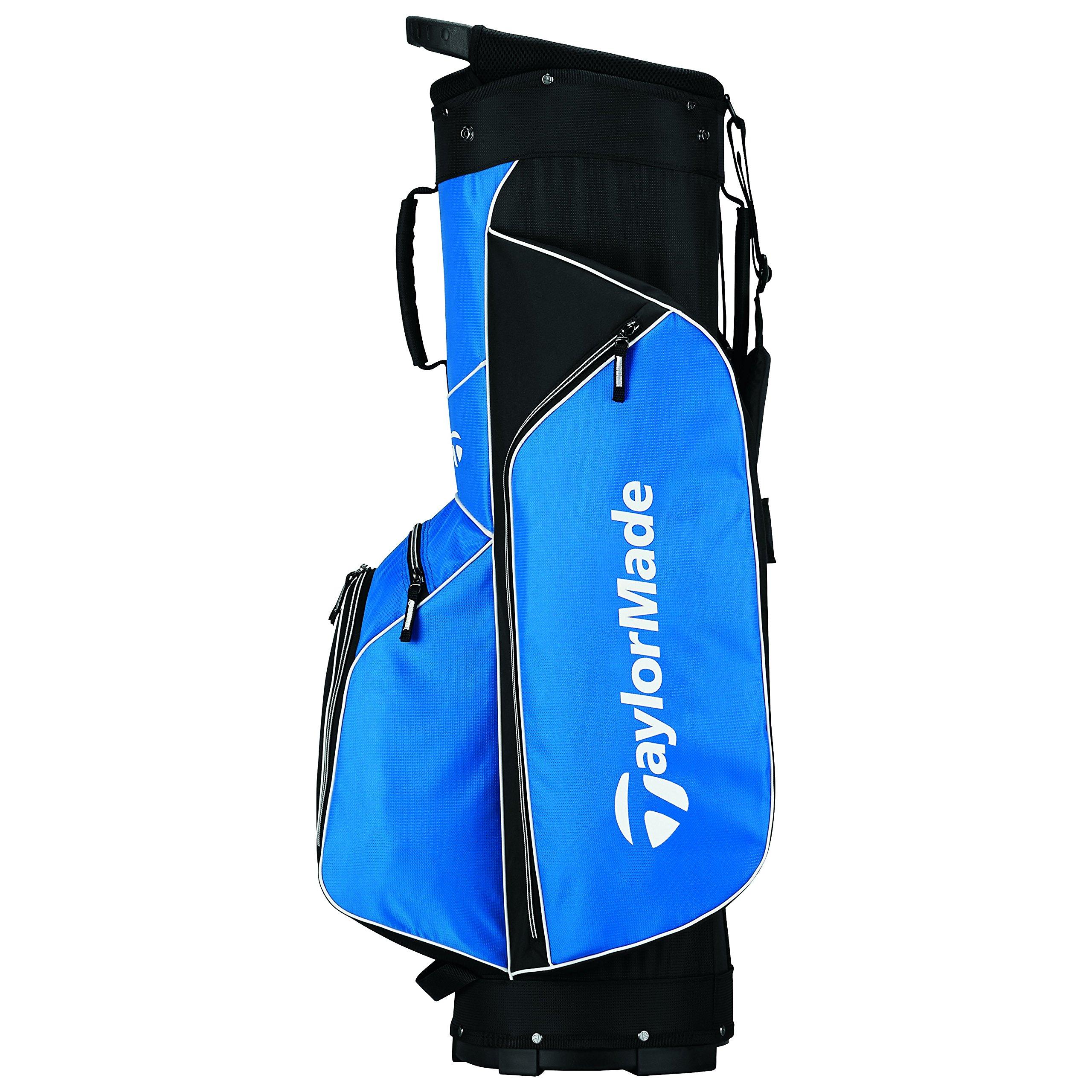 TaylorMade 2017 Golf Bag TM Cart Bag 5.0 BluBlk, Blue/Black