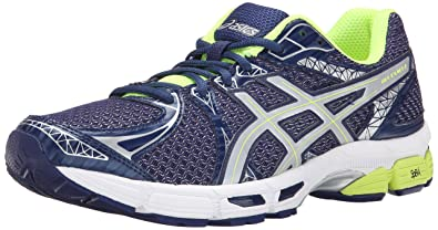 ASICS Men's Gel Exalt 2 Lite Show Running Shoe, Indigo Blue/Silver/Flash