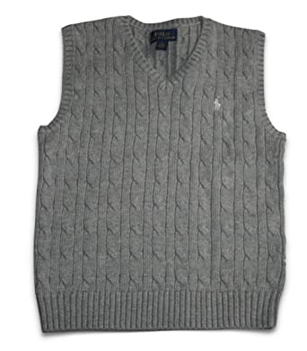 Amazon Polo Ralph Lauren Child Boys Cable Knit Sweater Vest