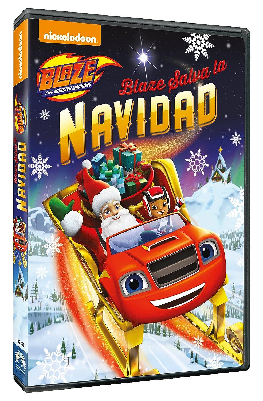 Blaze And The Monster Machines 7: Blaze Salva La Navidad [DVD]