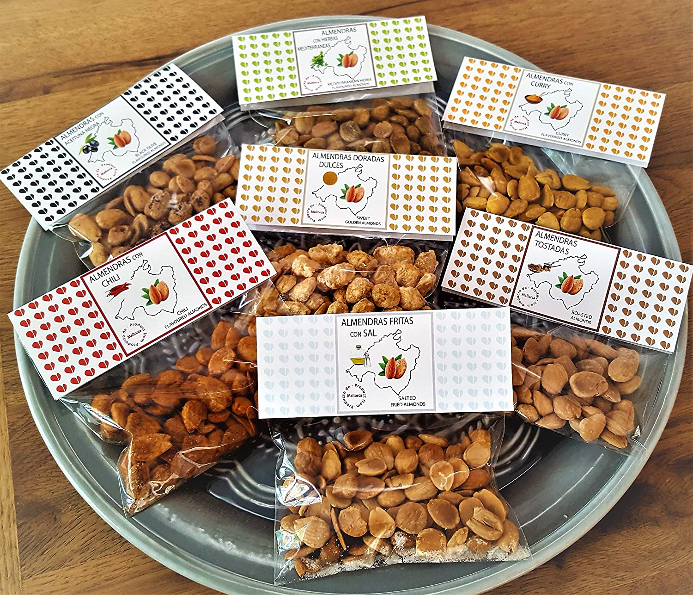 Surtido almendras dulces y saladas Mallorca Fruits - pack 7 ...