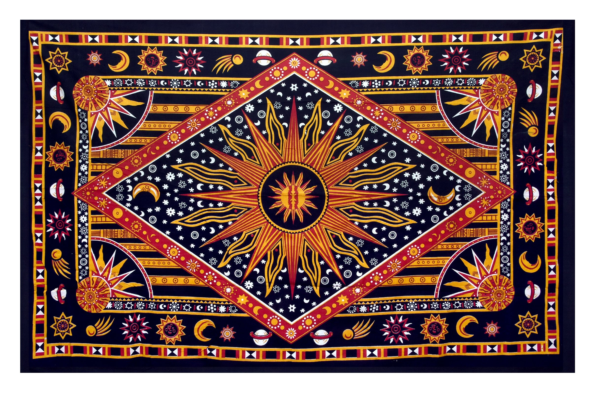 celestial sun moon stars planet tapestry indian wall decor wall hangingroom tapestry bohemian tapestry tapestry tapestry wall hanging boho tapestryhippie . celestial sun moon stars planet tapestry indian wall decor wall