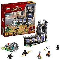 LEGO UK 76103 Marvel Super Heroes Corvus Glaive Thresher Attack Superhero Toy