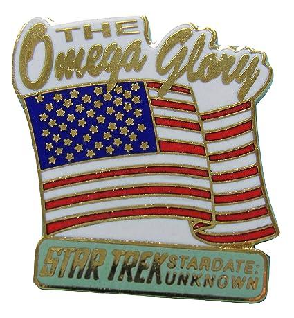 Enamel pin Star Trek episode Omega Glory out-of-production vintage