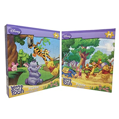 Cardinal Winnie The Pooh Puzzle - Set of 2: Toys & Games