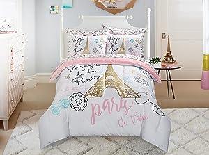Heritage Kids Bonjour Comforter Set, Twin