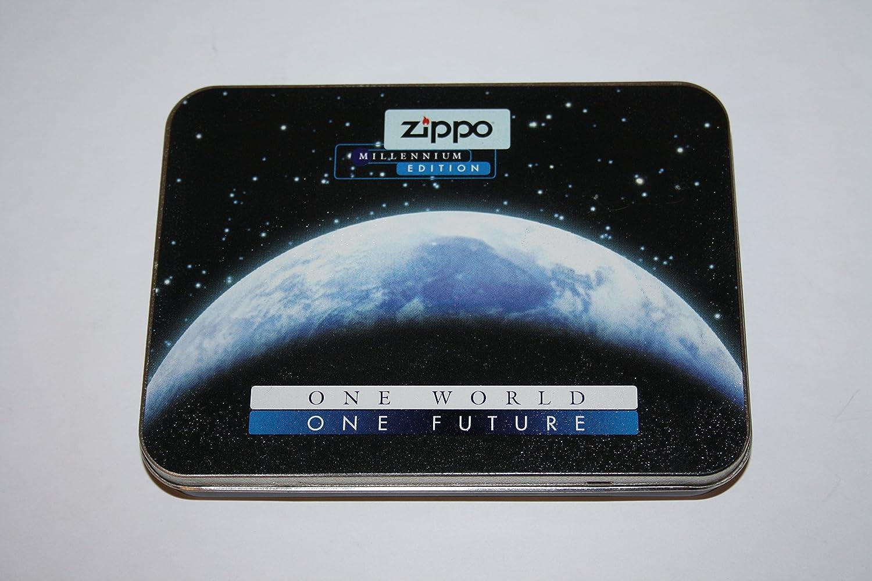 Amazon.com: Titanium coated Millenium edition collectable Zippo lighter: Health & Personal Care