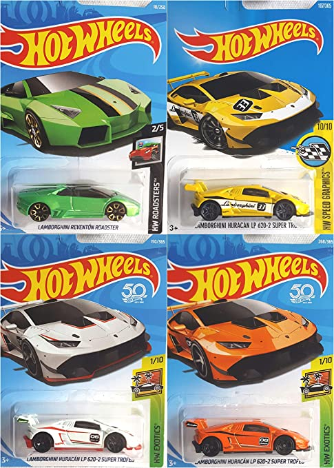 Amazon Com Hot Wheels Lamborghini Reventon Roadster Green 18 250