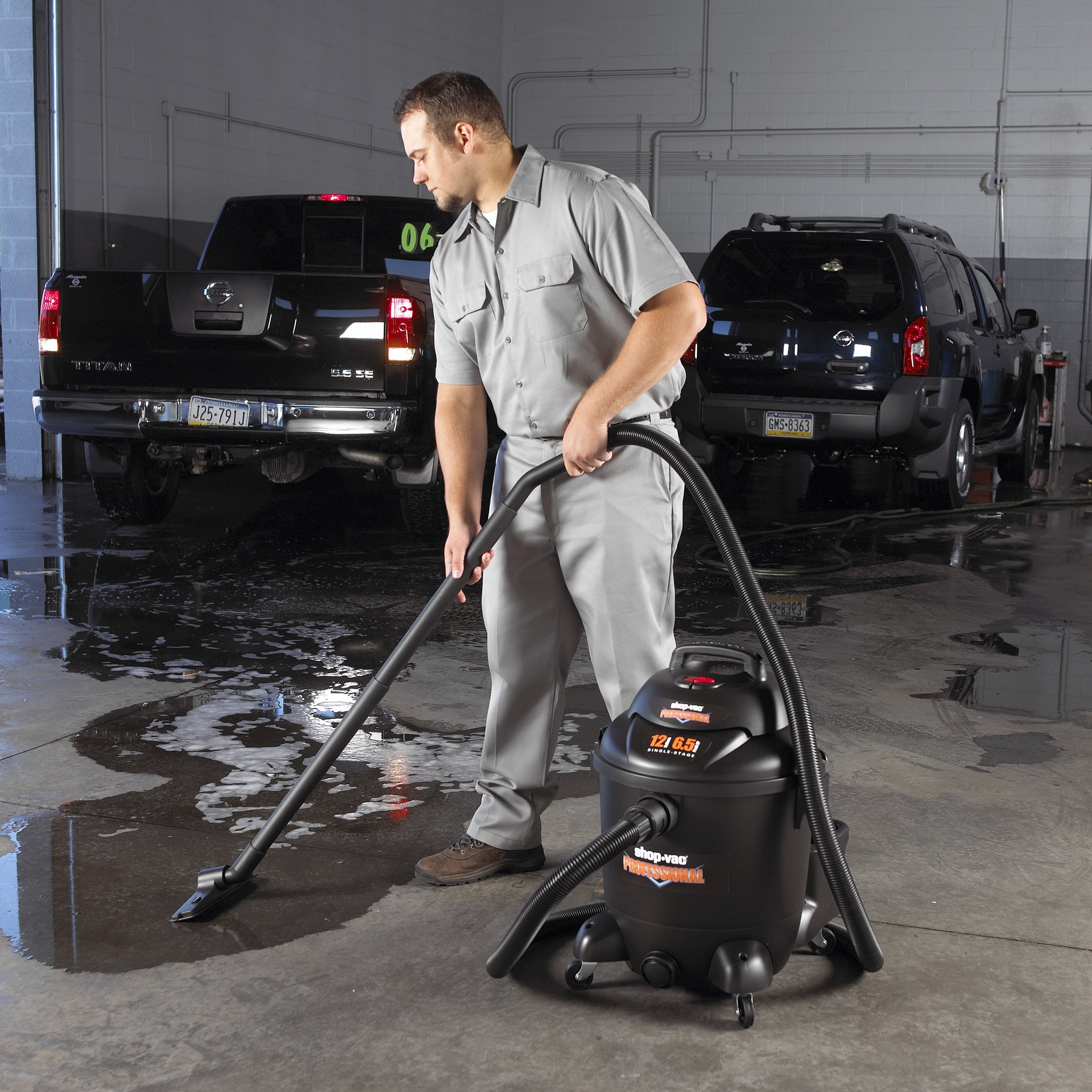 Shop-Vac 9621210 Professional Commercial Duty Vacuum - 12 Gallon Capacity by Shop-Vac (Image #8)