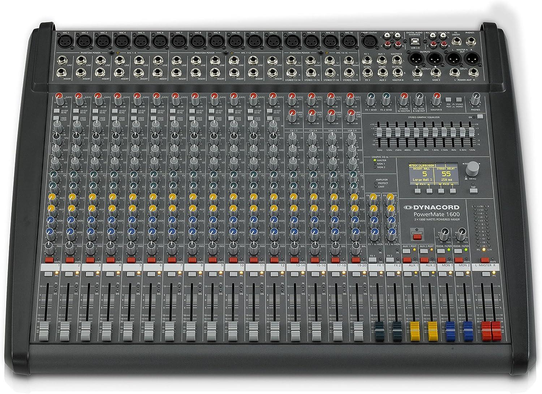 PowerMate 1600-3 Mezclador automaplificado, 2x 1000 W / 4 Ohmios ...