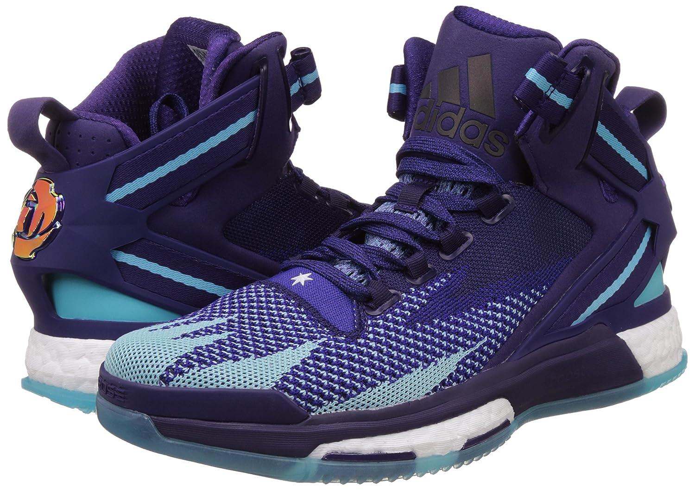 info for cf7b7 10332 Adidas D ROSE 6 BOOST PRIMEKNIT Scarpe da Basket Uomo Multicolore Taglia 50  2 3  Amazon.it  Scarpe e borse