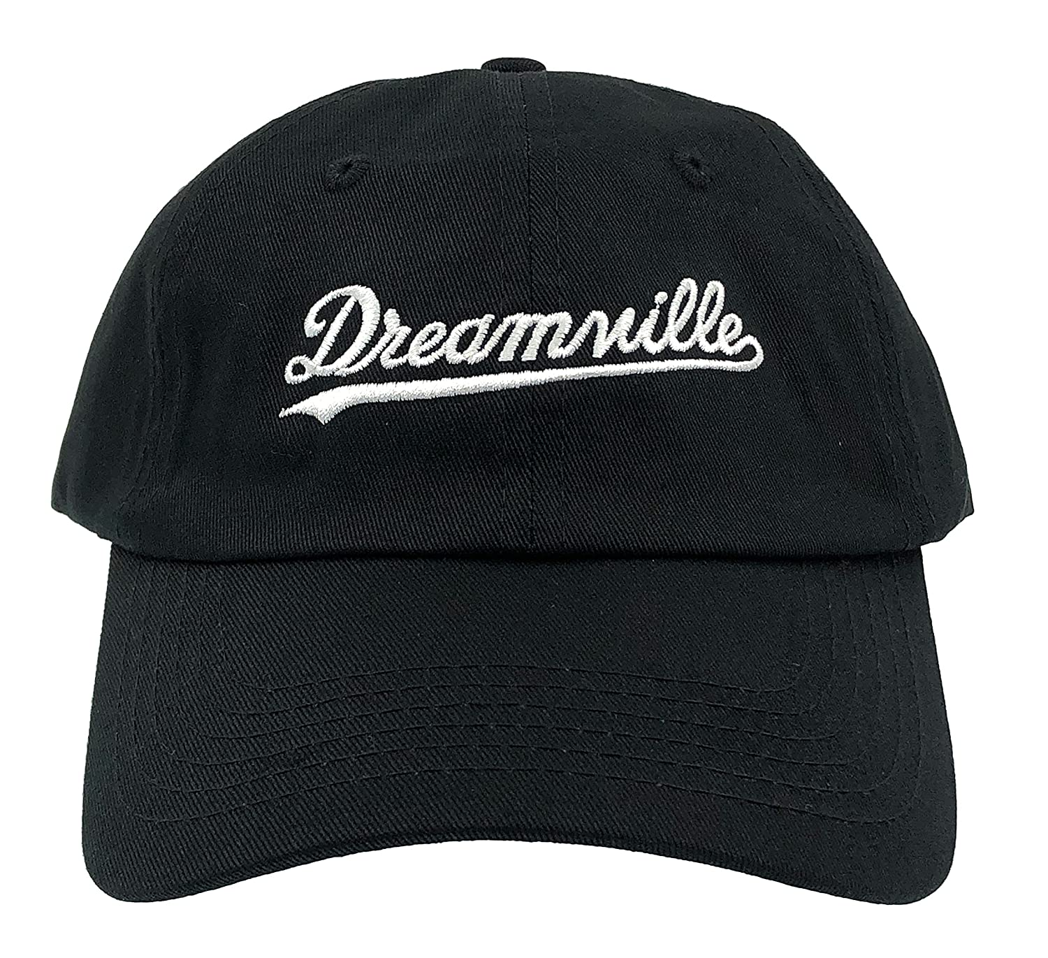 af50b101caa5c Amazon.com  Dream Hat Born Sinner Crown Dad Hat Baseball Cap Embroidered  Adjustable (Black)  Clothing