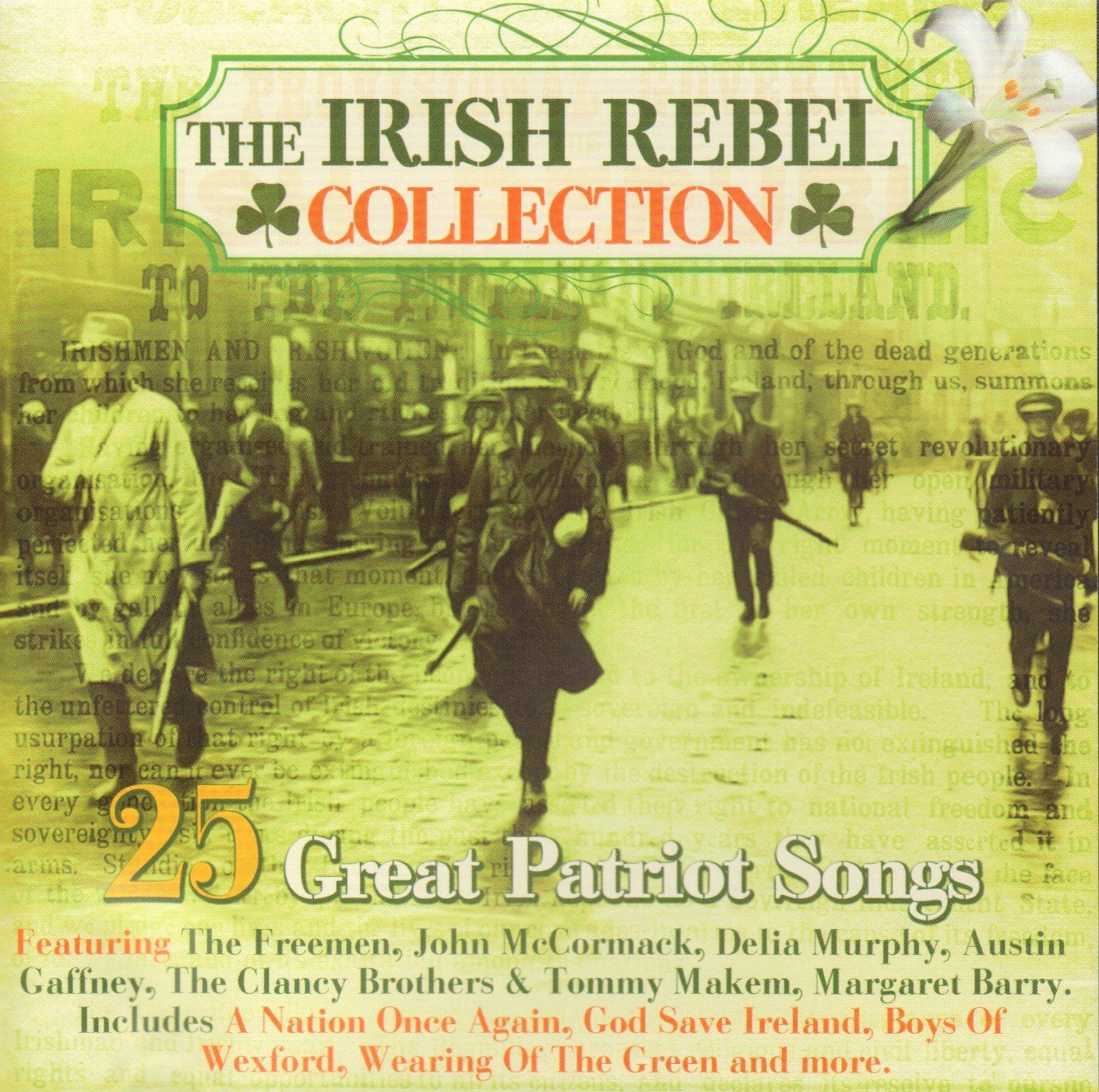 Industry No. 1 The Irish Rebel Collection Patriot Great OFFicial store 25 Songs