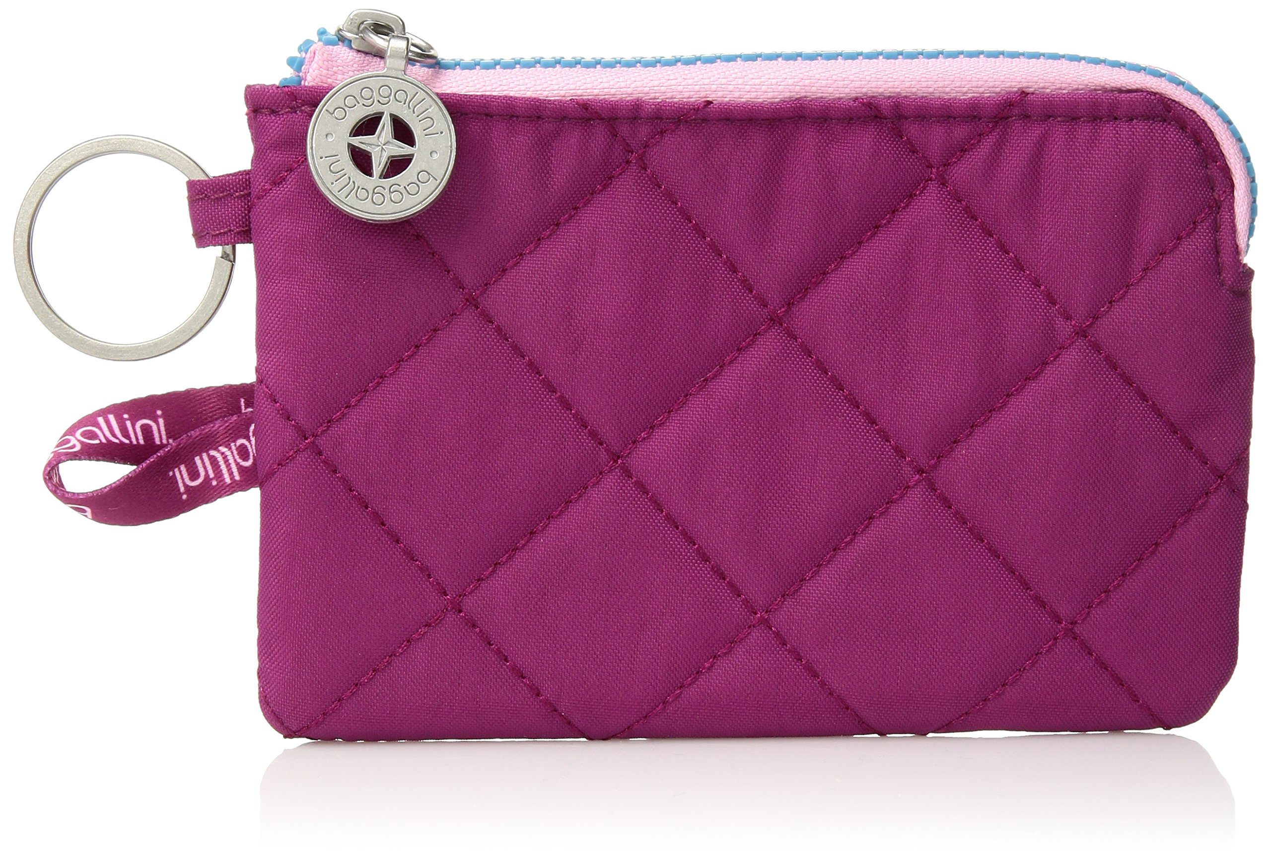 Baggallini Women's Rfid Card Case, Fuchsia/Pink, One Size