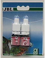 JBL NO2 Nitrit Recharge, Test rapide pour déterminer la teneur en nitrites dans les aquariums d'eau douce ou d'eau de mer et dans les bassins