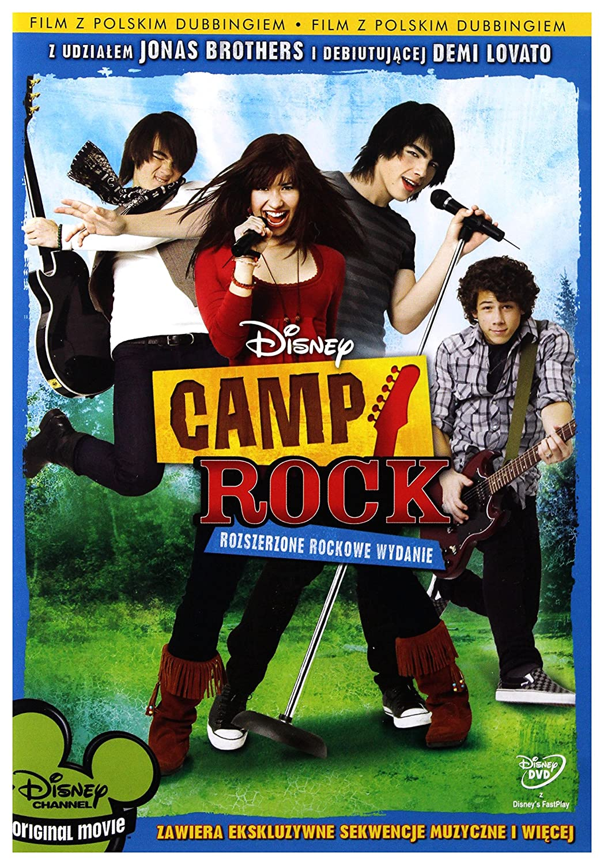 Camp Rock DVD Region 2 IMPORT No hay versión española: Amazon.es: Cine y Series TV