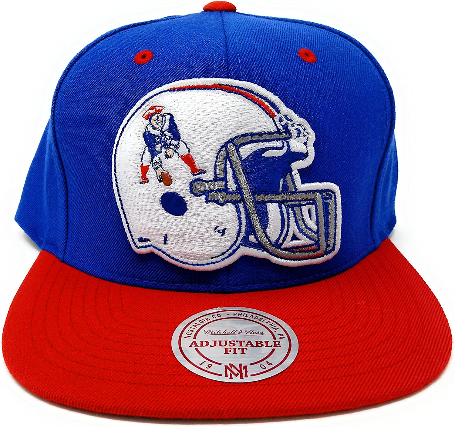Mitchell And Ness New England Patriots Helmet Throwback Snapback At Amazon Women S Clothing Store