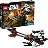 LEGO Star Wars 75532 - Scout Trooper und Speeder Bike, Baufigur