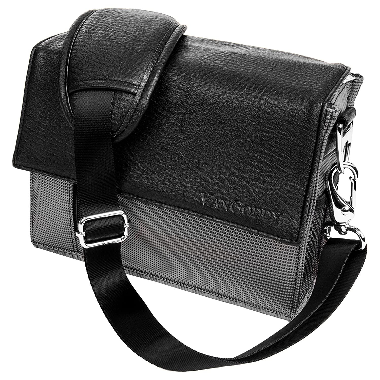 VanGoddy Metric Black Cross Body Shoulder Camera Bag for Panasonic Camcorder's EHCAMLEA202LU.12