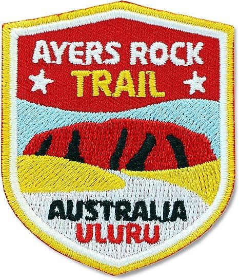 2 unidades), Stick nadadores 51 x 60 mm/Australia, Ayers Rock ...