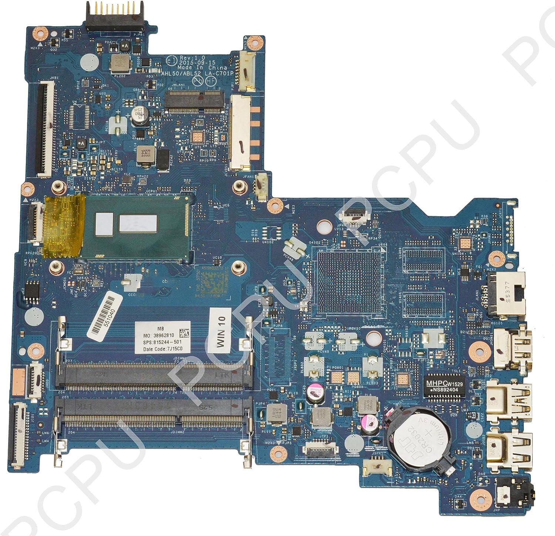 815244-501 HP 15-AC Laptop Motherboard w/Intel i5-5200U 2.2Ghz CPU